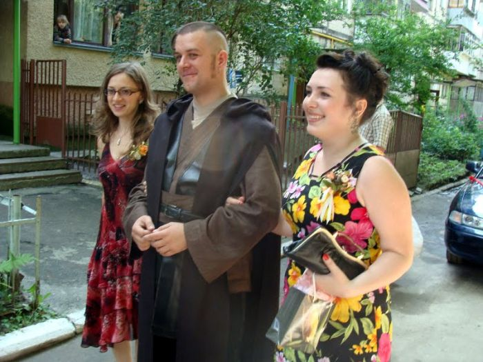 Свадьба в стиле Звездных Воин (43 фото + видео)