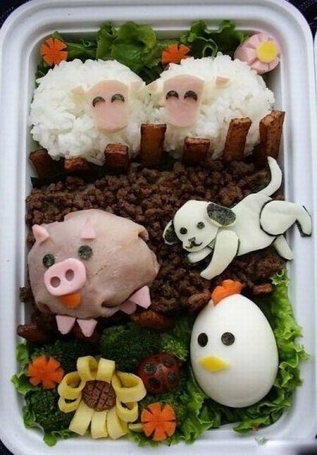 Креативные школьные завтраки (10 фото)