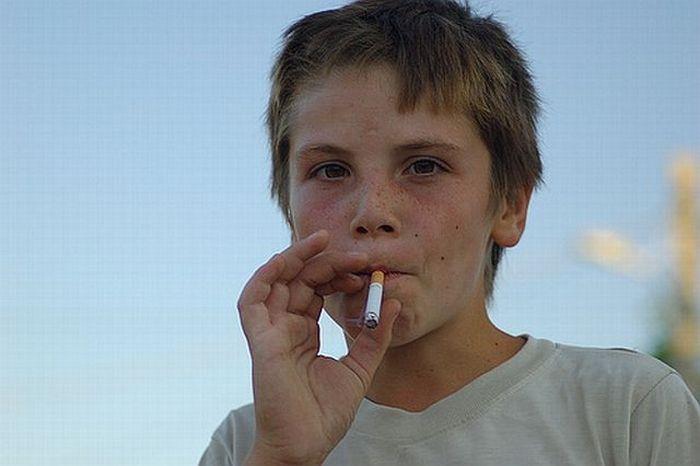 Курящие дети (45 фото)