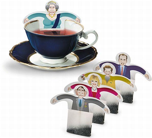 Необычные чайные пакетики (3 фото)