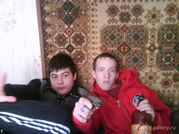 Русский рэп - жестокий и бессмысленный (48 фото)