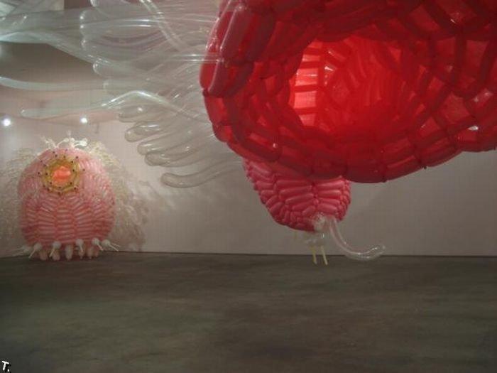 Монстры из шариков (40 фото)
