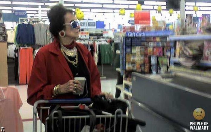 Смешные люди из супермаркетов (35 картинок)