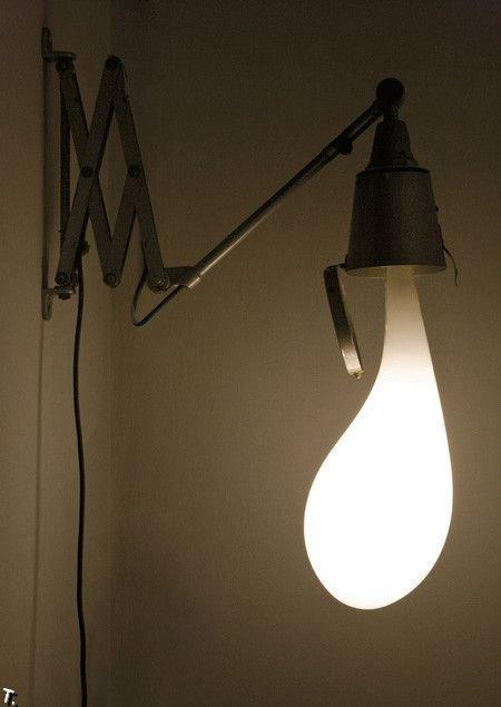 Необычные дизайнерские лампы (10 фото)