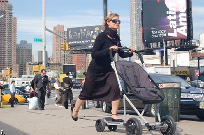 Новый вид детских колясок (6 фото)