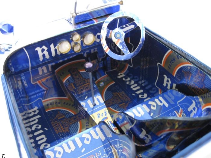 Автомобили из алюминиевых банок (52 фото)