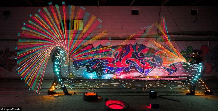 Световые граффити (10 фото)
