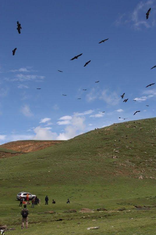 Похороны в Тибете