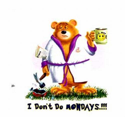 Понедельник!