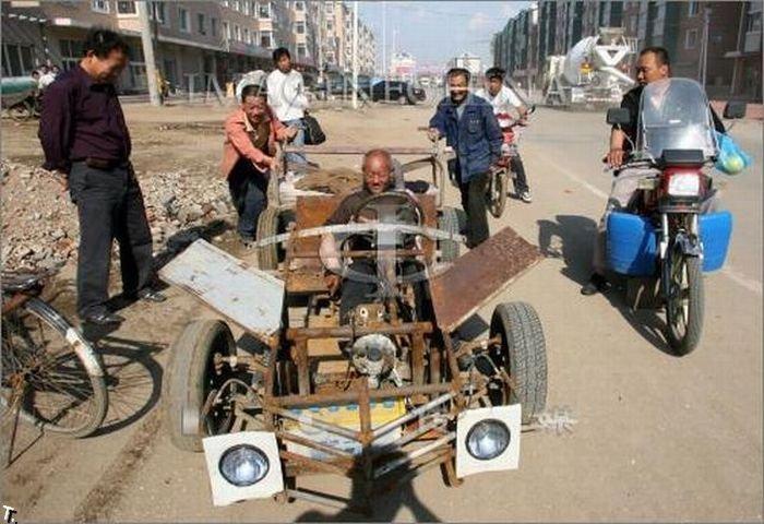 Как работают китайские гаишники (2 фото). Slavynin. Дата. Автор