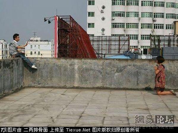 Драма в Китае (9 фото)