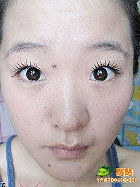 Чудеса макияжа по-китайски (12 фото)