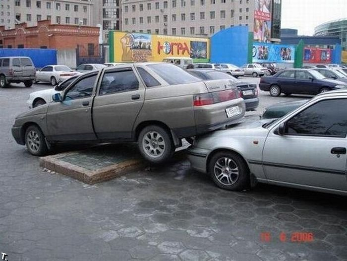 Неудачи парковки (42 фото)