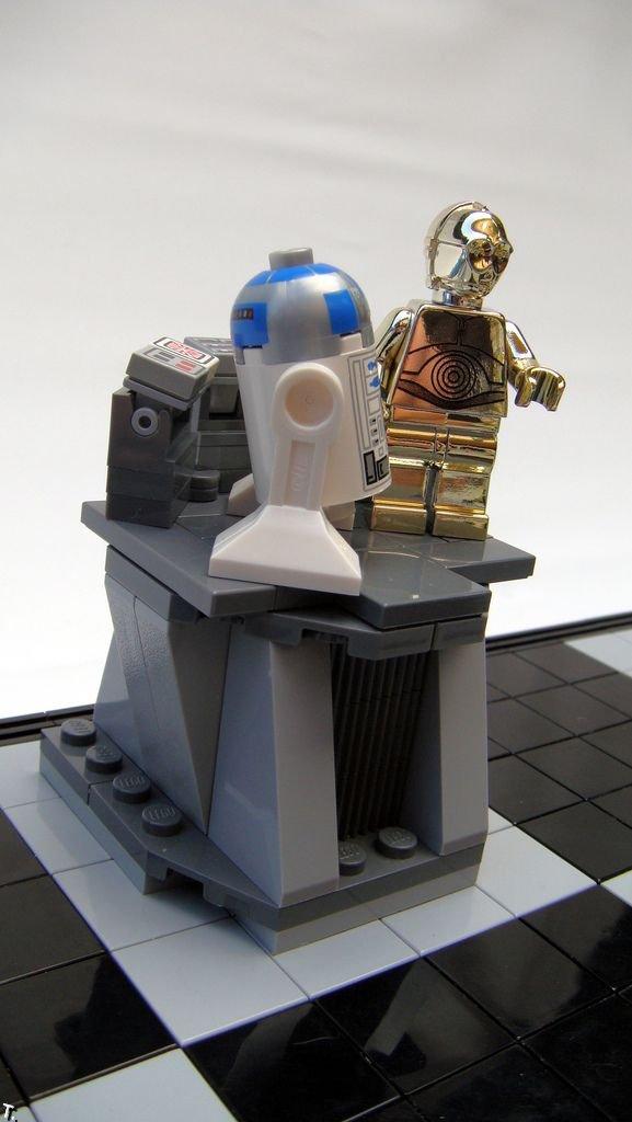 """Шахматы в стиле """"Звездные Войны"""" (52 фото)"""