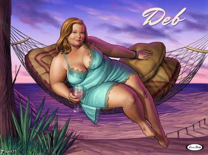 Сексуальные толстушки (21 фото)