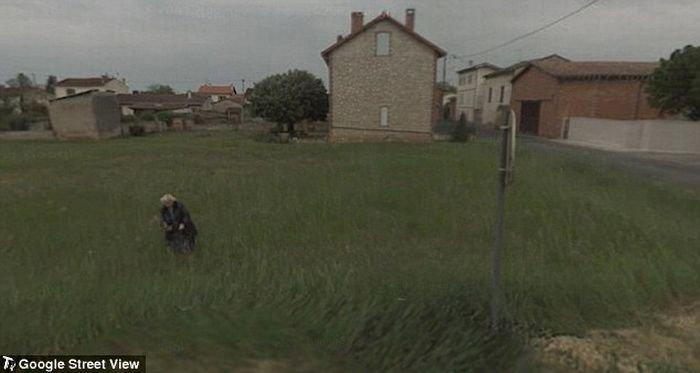 Рисунки по Google Street View (12 фото)