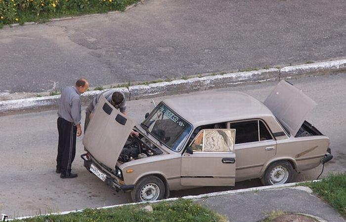 Общение с хозяином автомобиля (3 фото)
