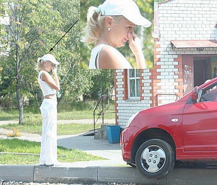 Женщины за рулем (35 фото)
