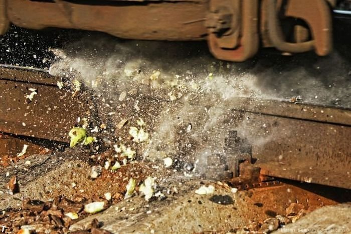 Мощность поезда (9 фото)