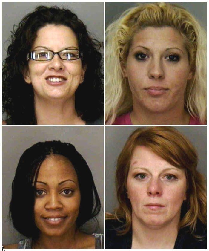 """Очередные американские проститутки-""""красавицы"""" (7 картинок, 28 фото)"""