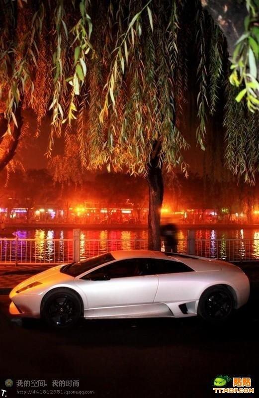 Встреча владельцев суперкаров в Китае (35 фото)