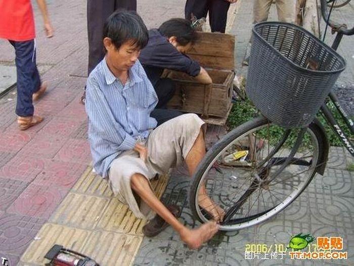 Безрукий китайский работник (20 фото)