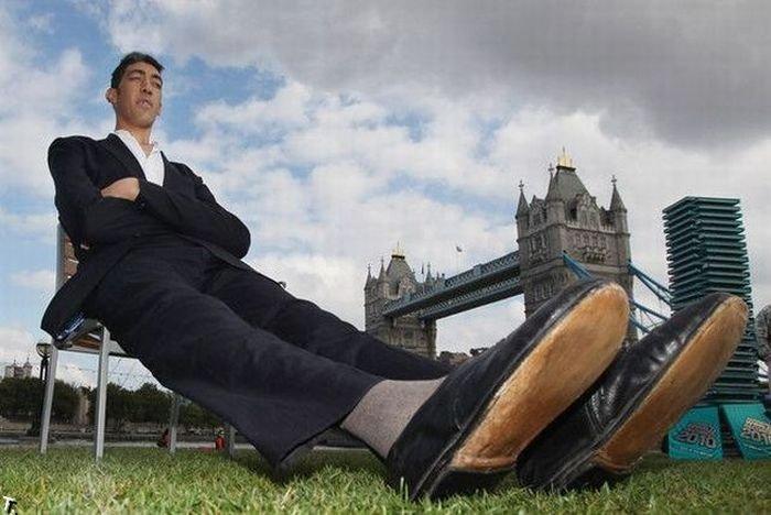 Султан Косен - самый высокий человек в мире (26 фото)