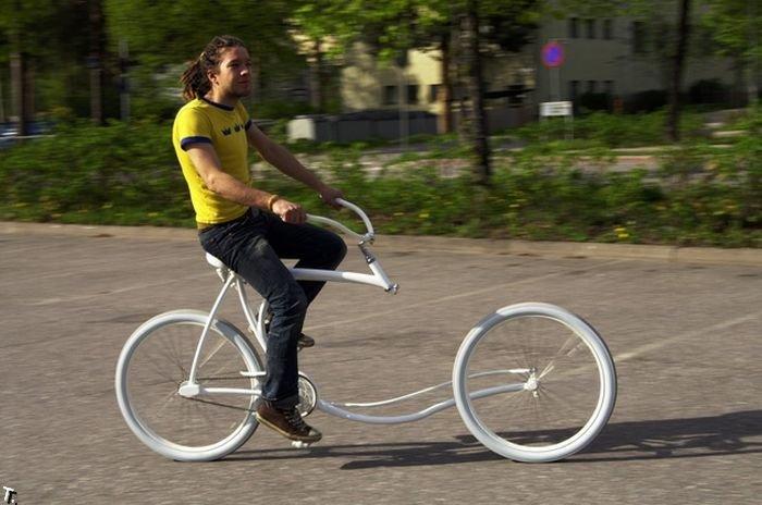 Необычный велосипед (5 фото)