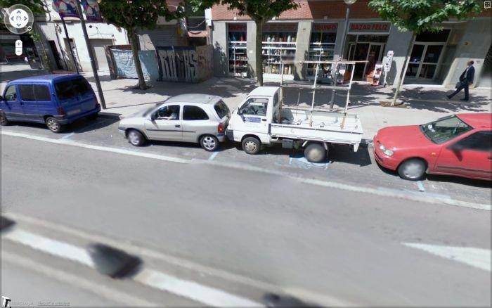Аварии на картах Google Streetview (10 фото)