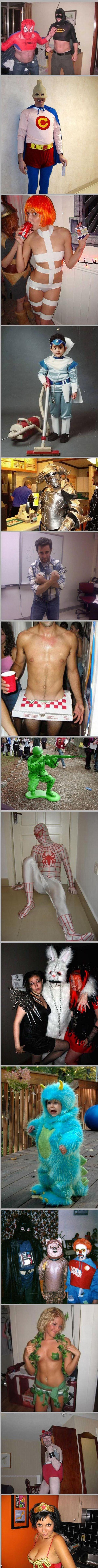 Сумасшедшие костюмы для Хэллоуина (26 фото)