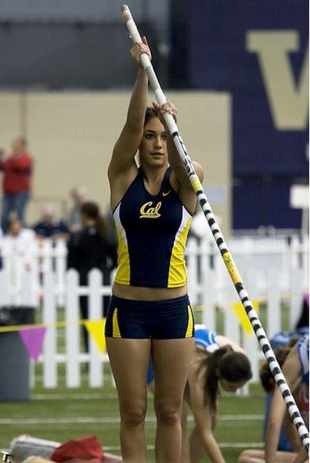 Эллисон Сток (Allison Stokke) - спортсменка-красавица (33 фото)