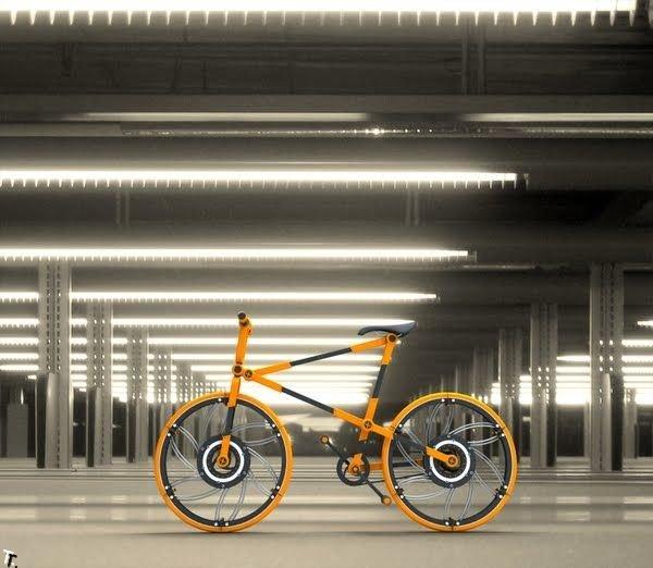 Современный велосипед (12 фото)