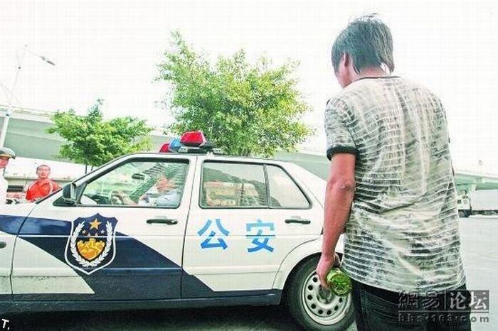 Ссора в Китае (7 фото)