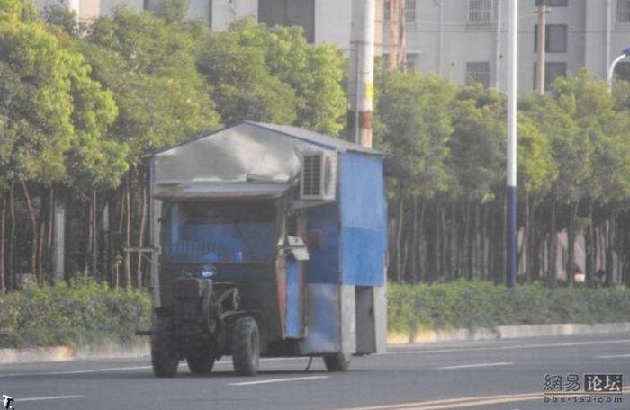 Дом на колесах по-китайски (5 фото)