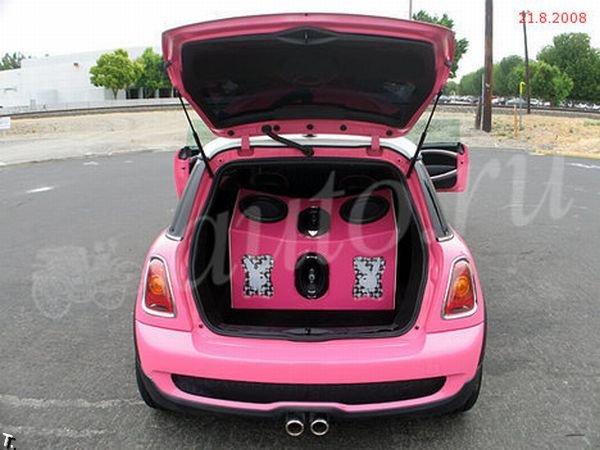 Лимузин Mini Cooper (6 фото)