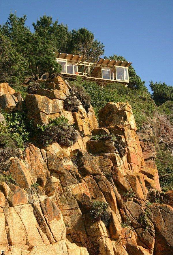 Дом на горе (13 фото)