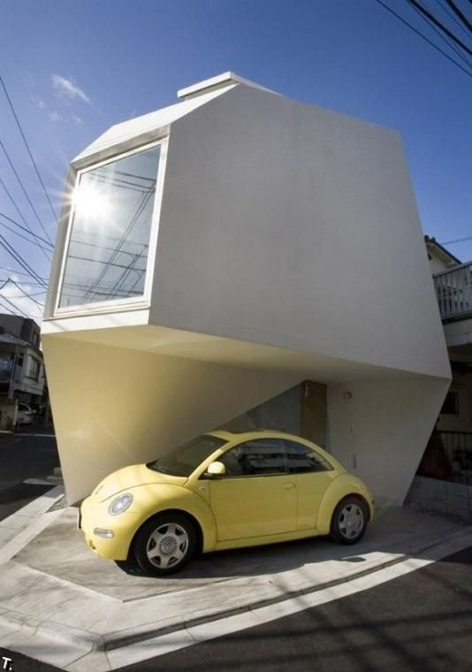 Интересный дом в Токио (8 фото)