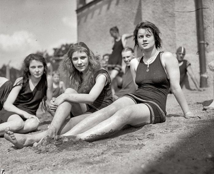 Красавицы прошлого (11 фото)