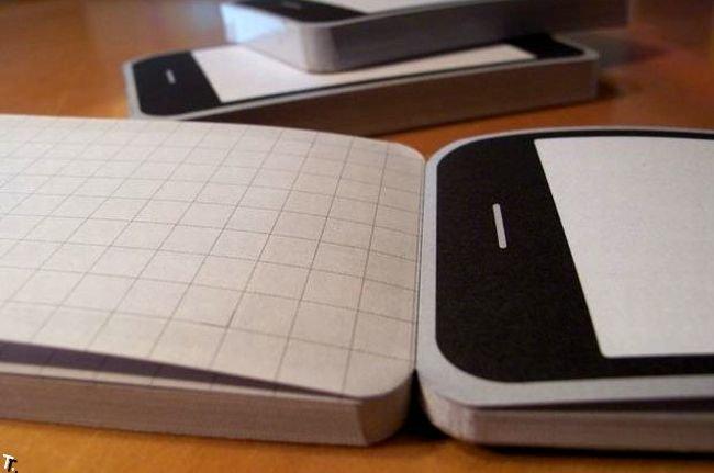 Блокнот для фанатов iPhone (5 фото)