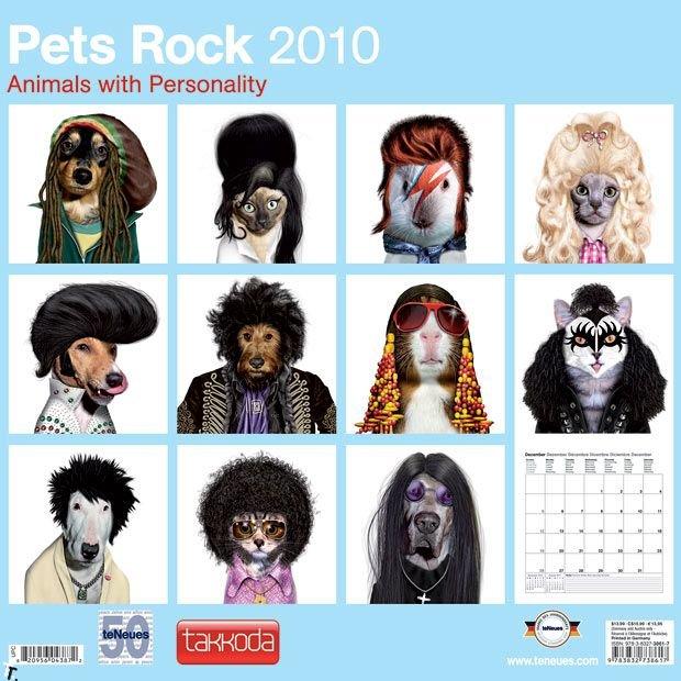 Рок-животные (13 фото)