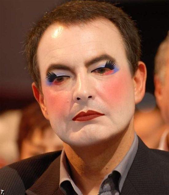 Политики в макияже (17 фото)