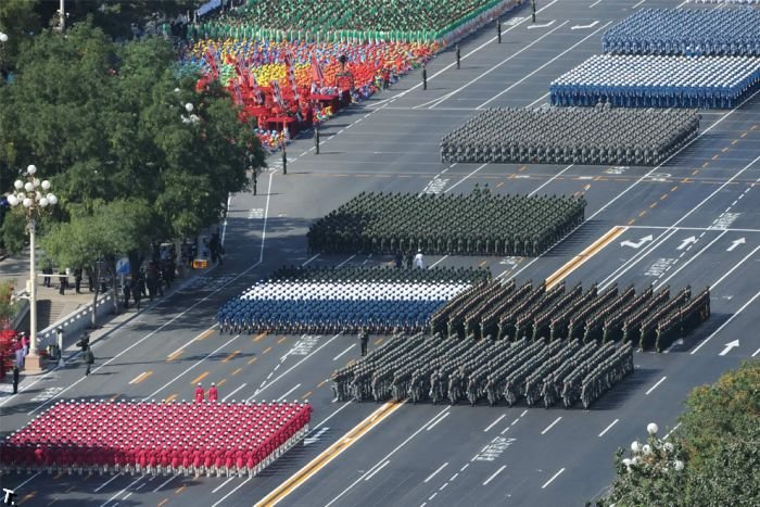 Китай празднует 60-летие (50 фото)