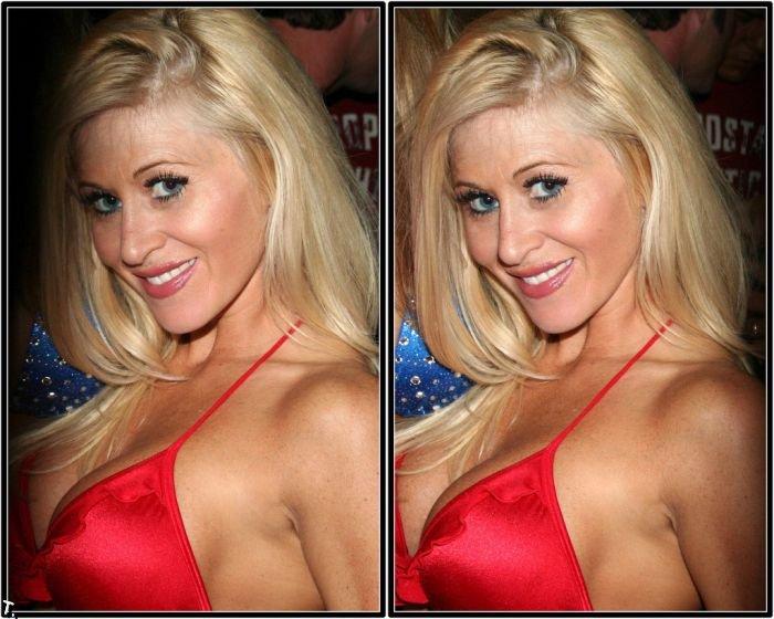 Мисс бикини США 2008 в 3D (24 стереокартинки)