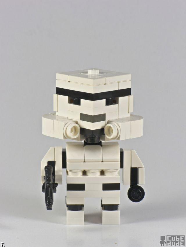 Герои кинофильмов сделанные из Lego (12 фото)