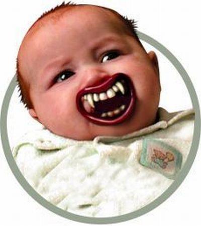 Как сделать из ребенка вампира (3 фото)