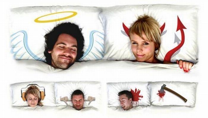 Забавное постельное белье (17 фото)