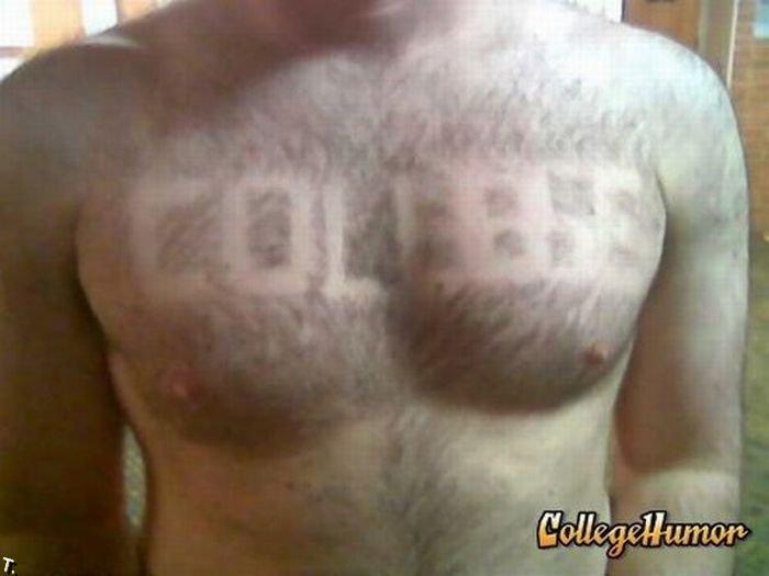 Прически на груди (25 фото)