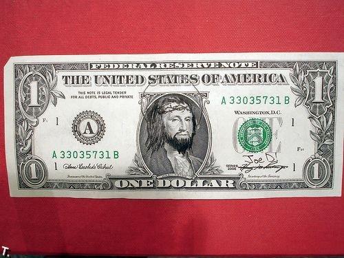 25 дефейснутых долларовых купюр (25 фото)