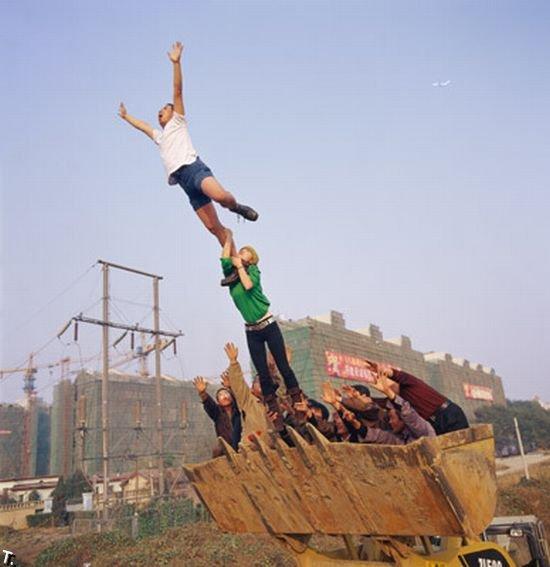 Свободное падение (60 картинок)