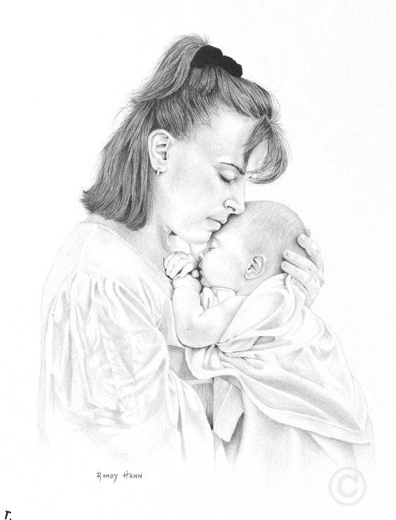 день матери картинки рисунки карандашом этих снимках